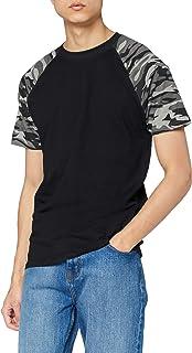Urban Classics Raglan Contrast tee Camiseta para Hombre