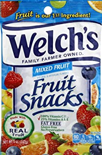 Welch's Fruit Snacks, 5 Oz. Bag