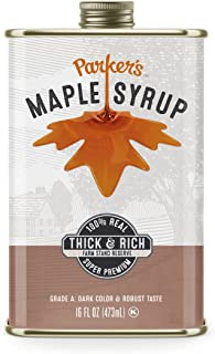 Parker's Real Maple Syrup, Original, 16 Ounce Tin