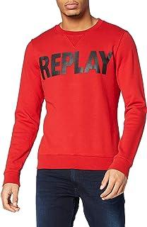 Replay Men's Logo Sweater Sweatshirt