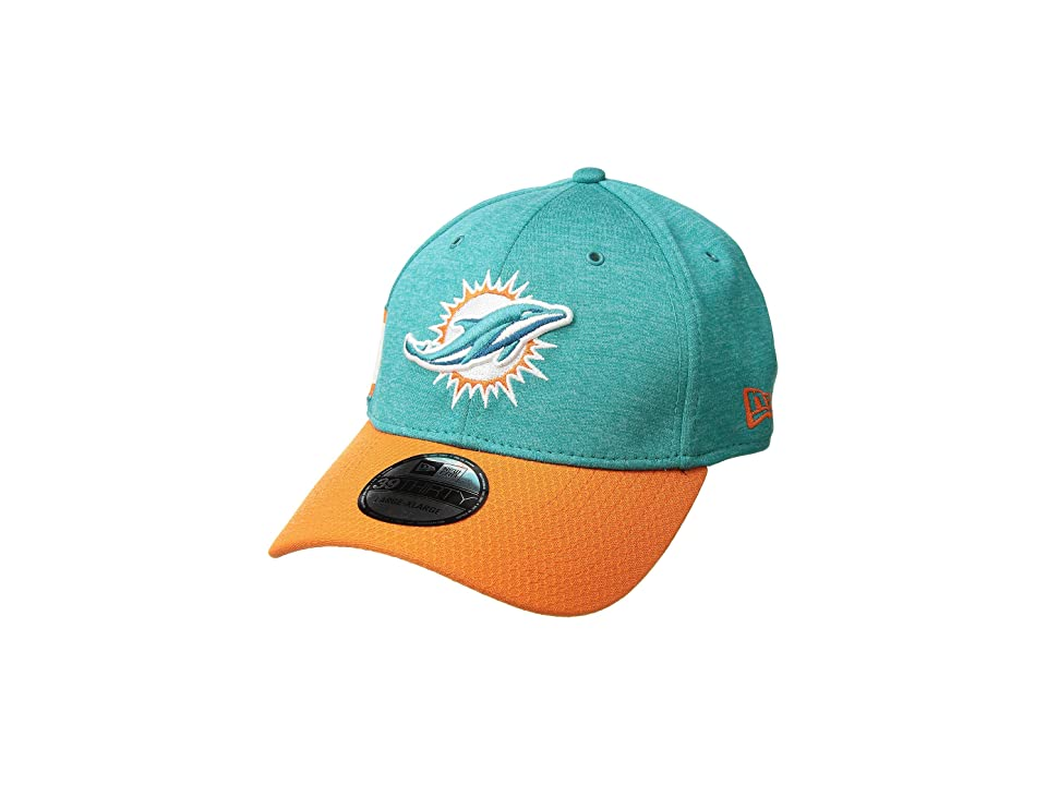 New Era - New Era 39Thirty Official Sideline Home Stretch Fit - Miami Dolphins