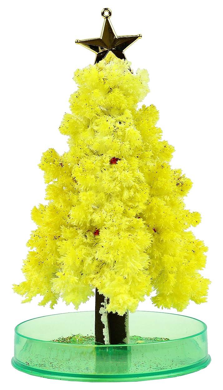 ローストあなたのものはっきりとOTOGINO(オトギノ) 『マジックツリー』12時間で育つ不思議なツリー マジッククリスマスツリー【イエロー】