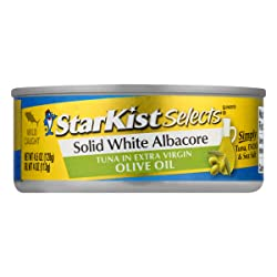 StarKist Selects Solid White Albacore Tuna in Extra Virgin Olive Oil, 4.5 oz
