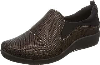 Clarks Women's Sillian Paz Bronze Leather Sneakers-4 UK/India (37 EU) (91261286554040)