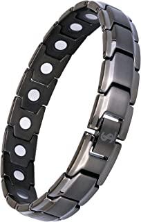 Elegant Titanium Magnetic Therapy Bracelet Pain Relief for Arthritis and Carpal Tunnel..