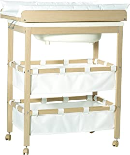Color : Gray, Size : A Wickelkommode Wickelkommode Wickeltisch Klappbare Wickelstation Tragbare Kommode Kleinkind for 0-3 Jahre
