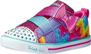 Skechers Unisex-Child Sparkle Lit-Rainbow Cutie Sneaker