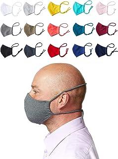 Enter the Complex® Mondkapjes Wasbar op 60 Graden met Filtervakje, 1Pcs, Masker Stof, Mondneusmasker van Jersey Katoen, Da...