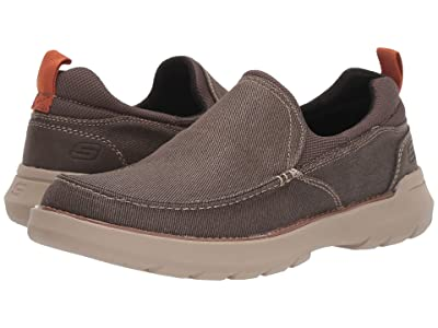 SKECHERS Relaxed Fit Doveno Hangout (Chocolate) Men