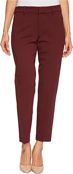 Petite Kelsey Straight Leg Trousers in Super Stretch Ponte Knit