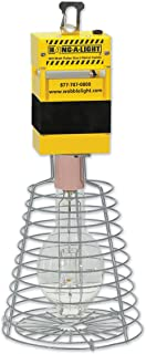 Hang-A-Light 111400PS 400w Pulse Start Metal Halide Temporary Area Work Light, 24-inches Tall, Yellow