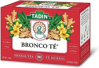 Tadin Bronco Herbal Tea, Caffeine Free, 24 Tea Bags Per Box, Pack of 6 Boxes Total