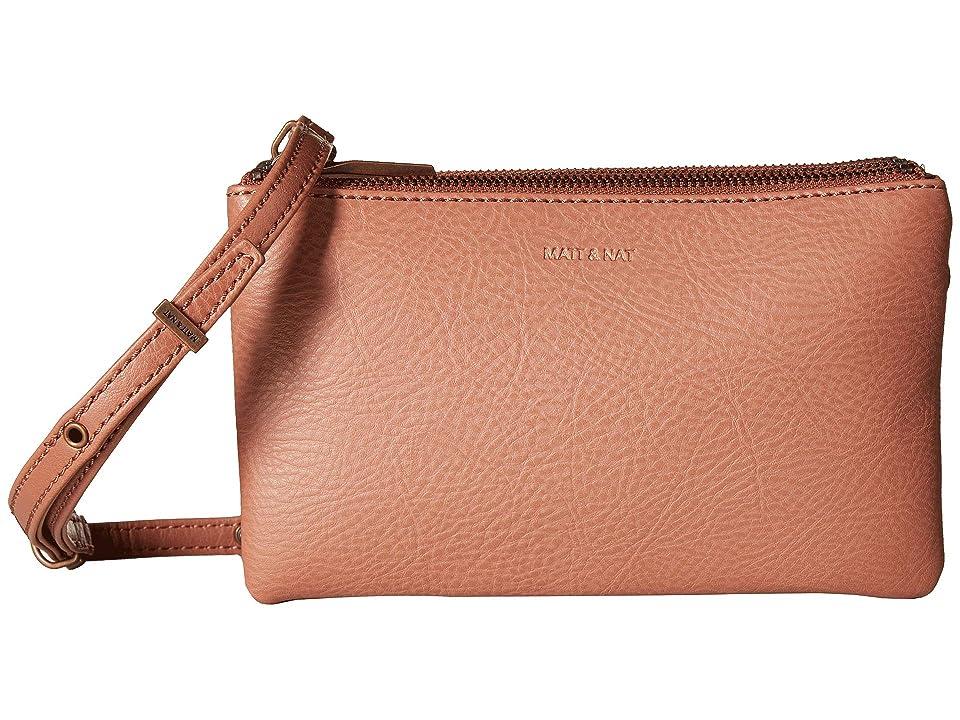 Matt & Nat Dwell Triplet (Clay) Handbags