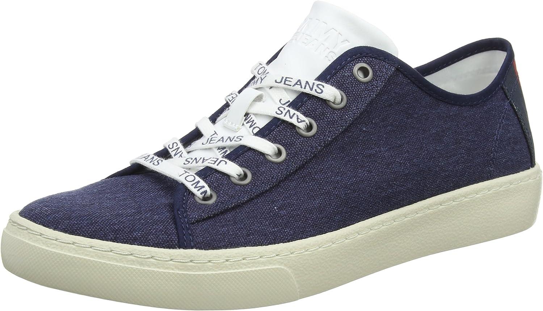 Hilfiger Denim Herren Tommy Jeans Light Textile Textile Textile Low Men Turnschuhe a50eb9