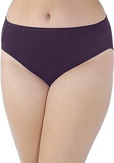Vanity Fair Women's Illumination Hi Cut Plus Size Panty 13810 Briefs (pack of 1)