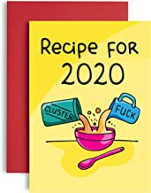 Cluster Fck Recipe Birthday Card 2020 - Friend Birthday Card for her - Lockdown Birthday Card - Quarantine Birthday - Birt...