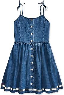 Polo Ralph Lauren Girl`s Denim Fit & Flare Dress
