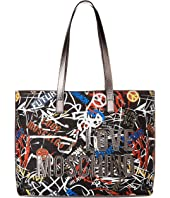 LOVE Moschino - Graffiti Print Tote