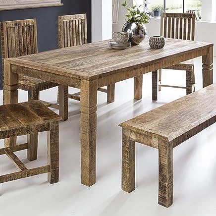 Amazon.es: mesas rusticas comedor - Mesas / Comedor: Hogar y cocina