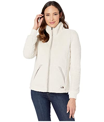 The North Face Campshire Full Zip Jacket (Vintage White/Dove Grey) Women