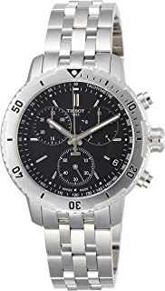 Tissot PRS 200 Stainless Steel Chronograph Mens Watch T0674171105101