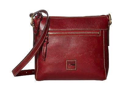 Dooney & Bourke Florentine Classic Allison Crossbody (Bordeaux/Self Trim) Cross Body Handbags