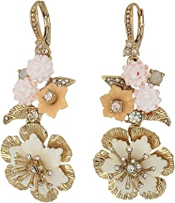 Force of Nature Medium Double Drop Earrings