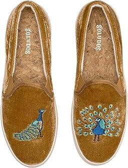 Velvet Peacock Sneaker