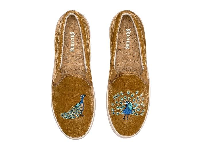 Soludos Velvet Peacock Sneaker | 6pm