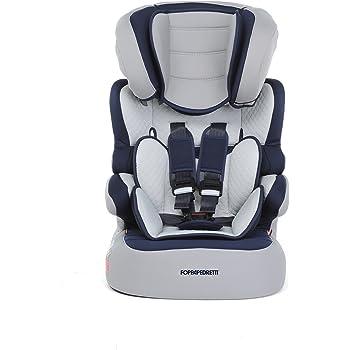 Foppapedretti Babyroad - Seggiolino Auto, Gruppo 1-2-3 (9-36 Kg) per Bambini da 9 Mesi a 12 Anni Circa, Ocean