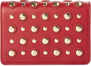 Lenz Flap Bag For Women, Leather, Red - S18-B018
