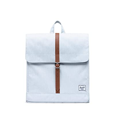 Herschel Supply Co. City Mid-Volume (Ballad Blue Pastel Crosshatch) Backpack Bags