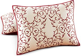 Martha Stewart Collection Chateau Red Standard Sham Bedding