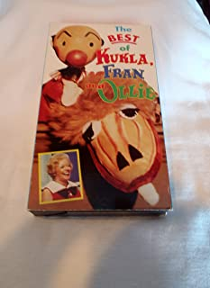 Best of Kukla Fran & Ollie VHS