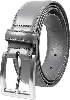 Men's Classic Dress Leather Belt Black & Brown Color