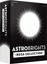 "Astrobrights Mega Collection, Colored Cardstock, Bright Confetti White, 320 Sheets, 65 lb/176 gsm, 8.5"" x 11"" - MORE SHEET..."