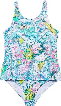 Vossie UPF 50+ Swimsuit (Toddler/Little Kids/Big Kids)