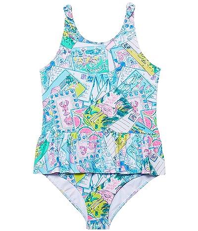 Lilly Pulitzer Kids Vossie UPF 50+ Swimsuit (Toddler/Little Kids/Big Kids)