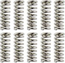 10 pz Molle a compressione a sezione tubolare Sourcingmap 30 x 10 x 5 mm