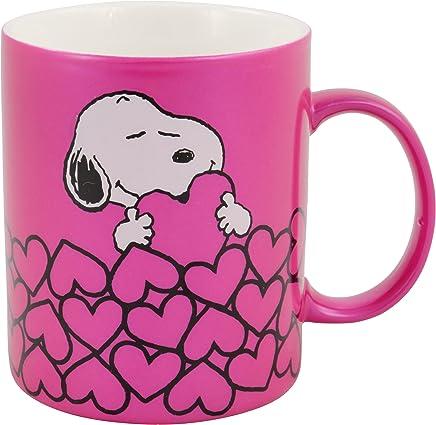 """Preisvergleich für Peanuts - Tasse """"Snoopy"""" metallic, pink: ca. 300ml"""