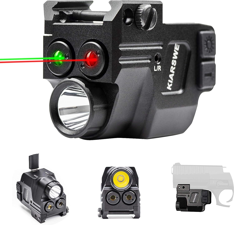 KIARSWE Shockproof Laser Light Combo Lumens La 倉庫 Strobe 500 期間限定で特別価格