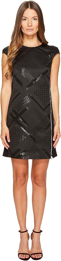 Sleeveless Geo Dress