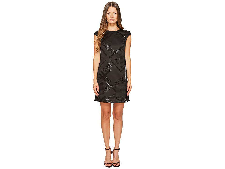 Versace Jeans Couture Sleeveless Geo Dress (Nero) Women