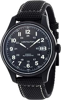 Men's HML-H70575733 Khaki Field Black Dial Watch