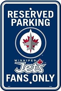 One Size Blue Frameworth Winnipeg Jets Door Knob Hanger