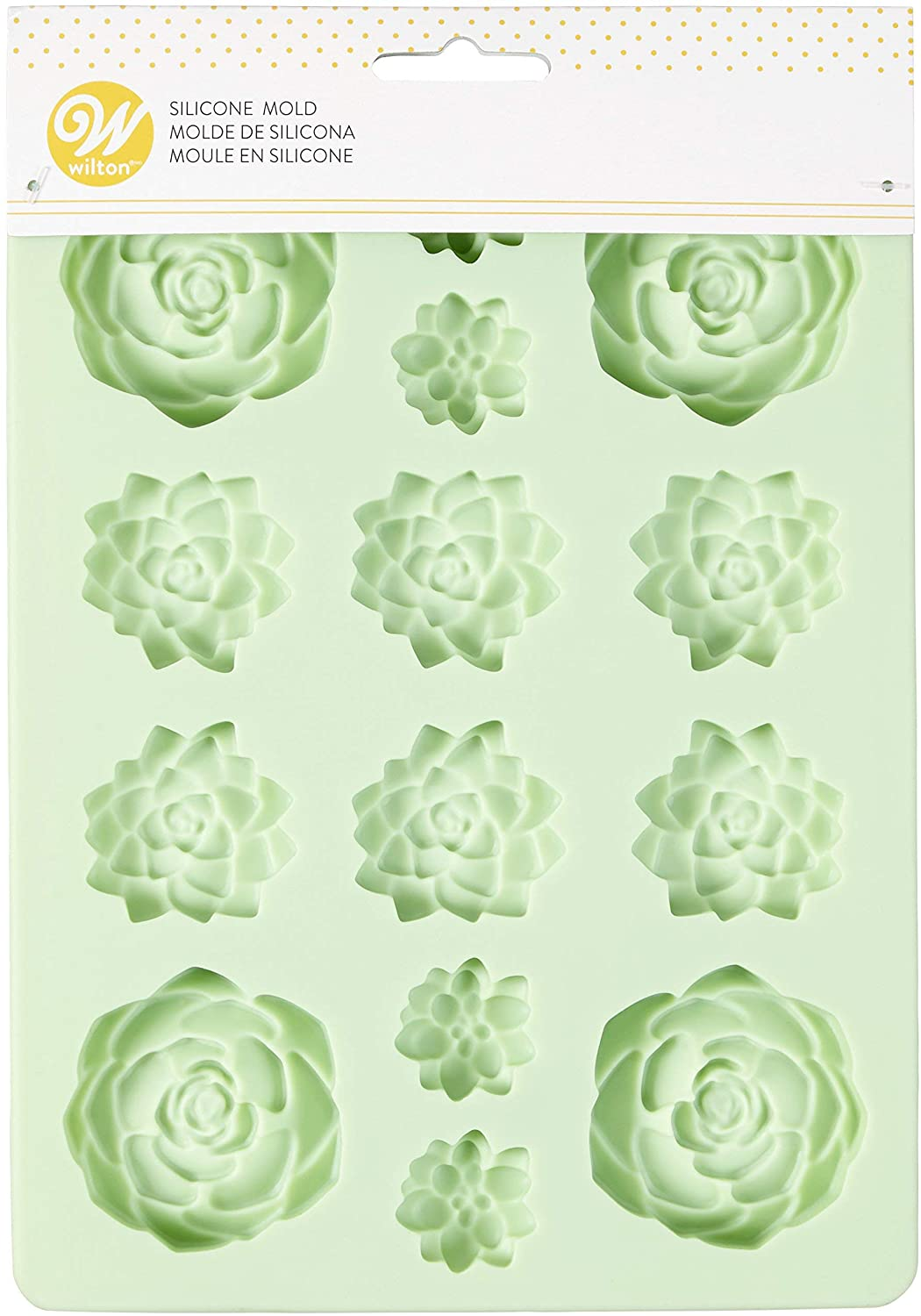 Succulents 100% quality In a popularity warranty Silicone Candy Wilton Mold by