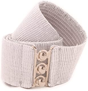 Malco Modes Wide Elastic Cinch Thick Waist Belt Stretch Belt for Women, Child to Plus Sizes