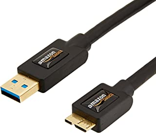Amazonベーシック USB3.0ケーブル 1.8m 5点セット(タイプAオス - マイクロタイプBオス)