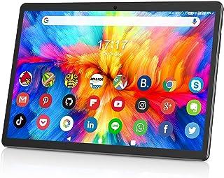 10.1インチタブレット32GB ROM 128GB拡張 Wi-Fiモデル 3G SIM Android 9.0 4コアCPU 1280x800 IPSタッチスクリーンタブレットHD 大容量 6000mAh Bluetooth 4.0 GPS ...