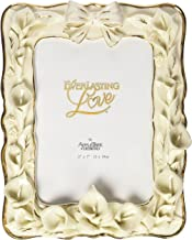 Appletree Design 25th Anniversary Calla Lilies Photo Frame, 9-1/2 by 7-1/2-Inch, Holds 5 by 7-Inch Photo